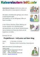 Einladung Projektforum